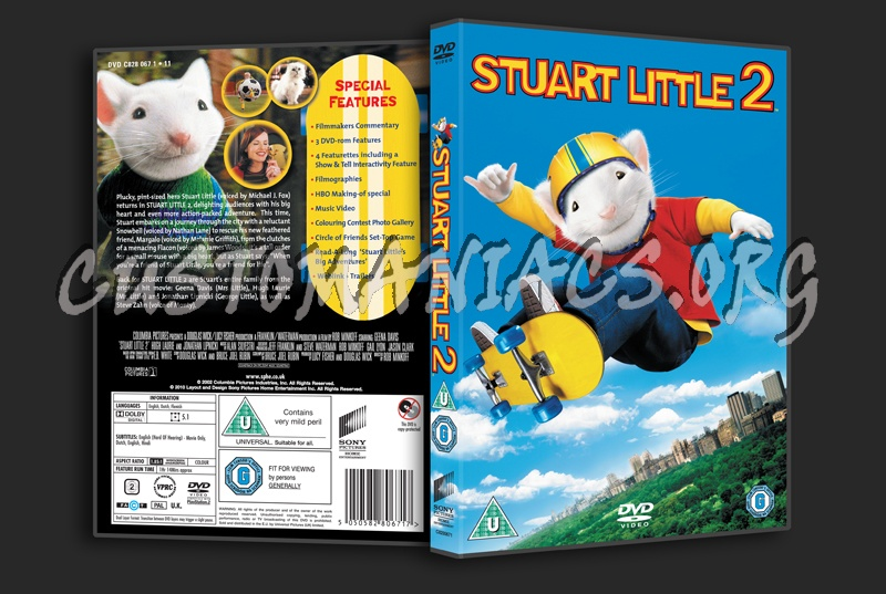 Stuart Little 2 Dvd Cover Dvd Covers Labels By Customaniacs Id 216646 Free Download Highres Dvd Cover