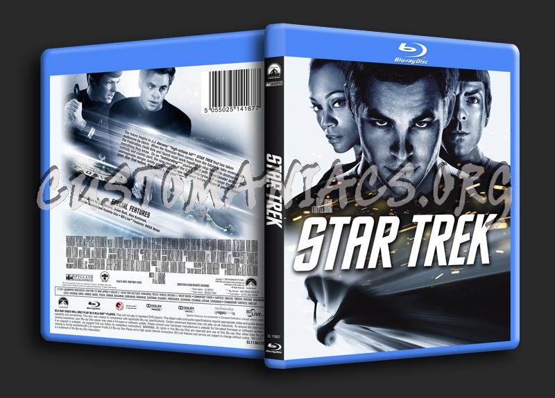 Star Trek blu-ray cover