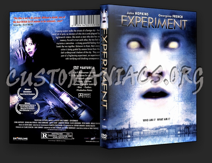 Experiment dvd cover