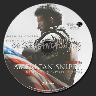 American Sniper blu-ray label