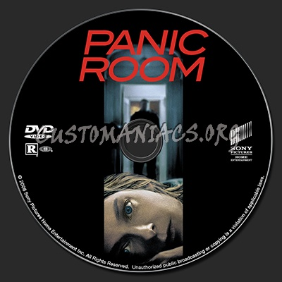 Panic room dvd label dvd covers labels by customaniacs for Custom panic room