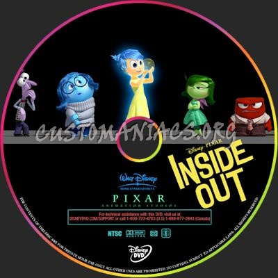 inside out dvd label dvd covers labels by customaniacs id 217123 free download highres dvd. Black Bedroom Furniture Sets. Home Design Ideas