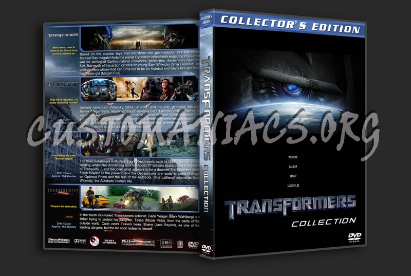Transformers Collection dvd cover