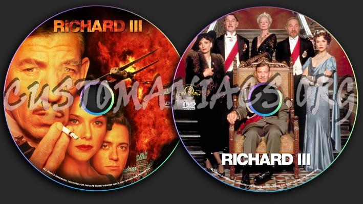 Richard III dvd label