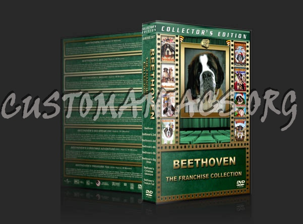 Beethoven: The Franchise Collection dvd cover