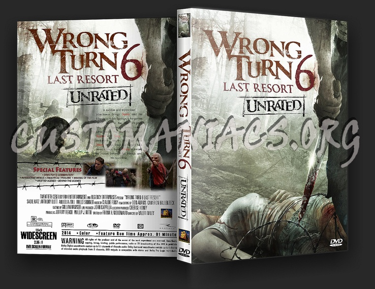 Wrong Turn 6 Last Resort dvd cover