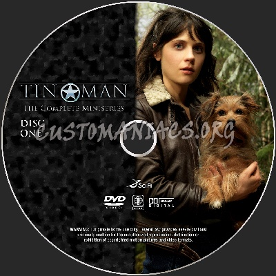Tin Man - Miniseries dvd label