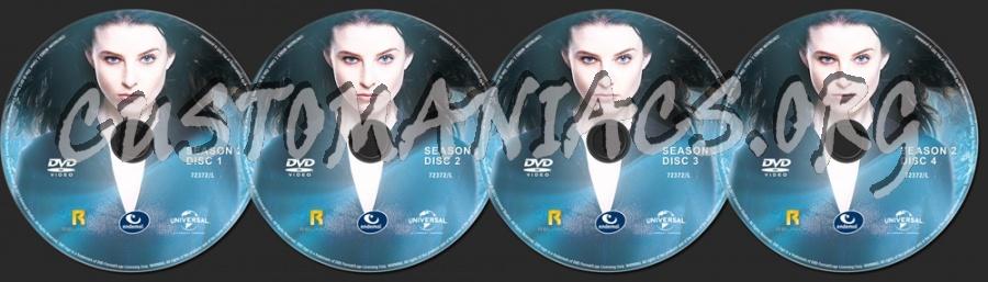 Continuum Season 2 dvd label