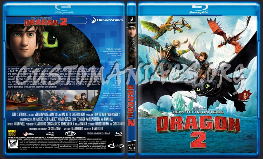 How To Train Your Dragon 2 Animation Collection Blu Ray Cover Dvd Covers Labels By Customaniacs Id 214225 Free Download Highres Blu Ray Cover
