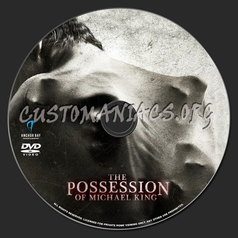 The Possession of Michael King dvd label