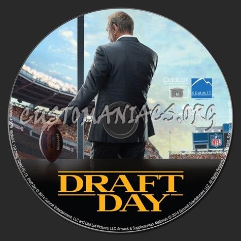 Draft Day blu-ray label