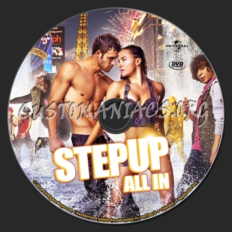 Step up All In dvd label - DVD Covers & Labels by ...