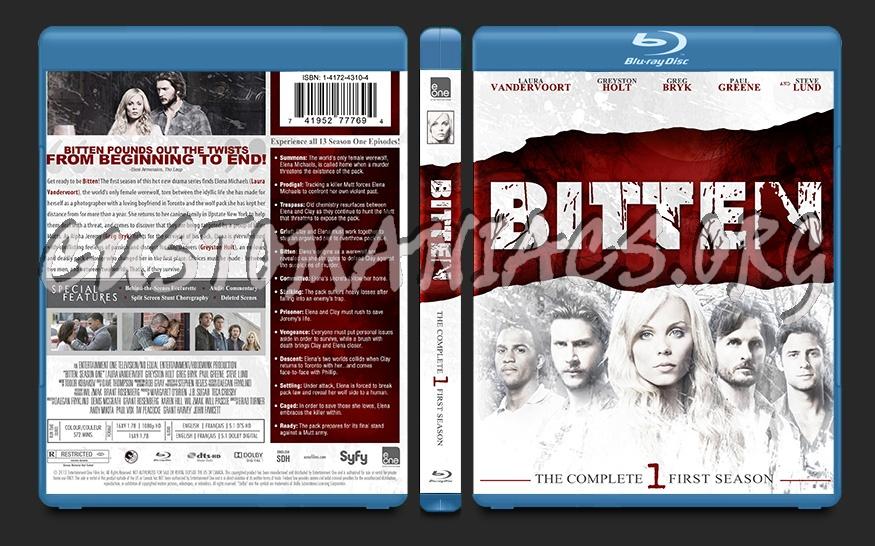 Bitten Season 1 blu-ray cover