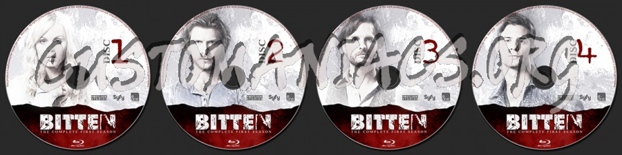 Bitten Season One blu-ray label