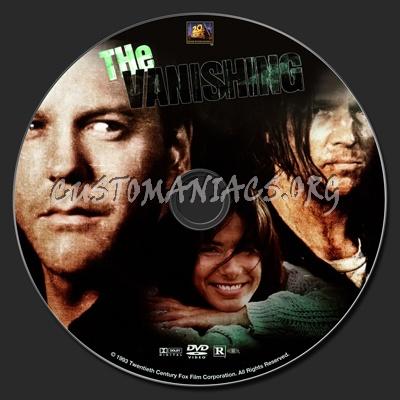 The Vanishing (1993) dvd label
