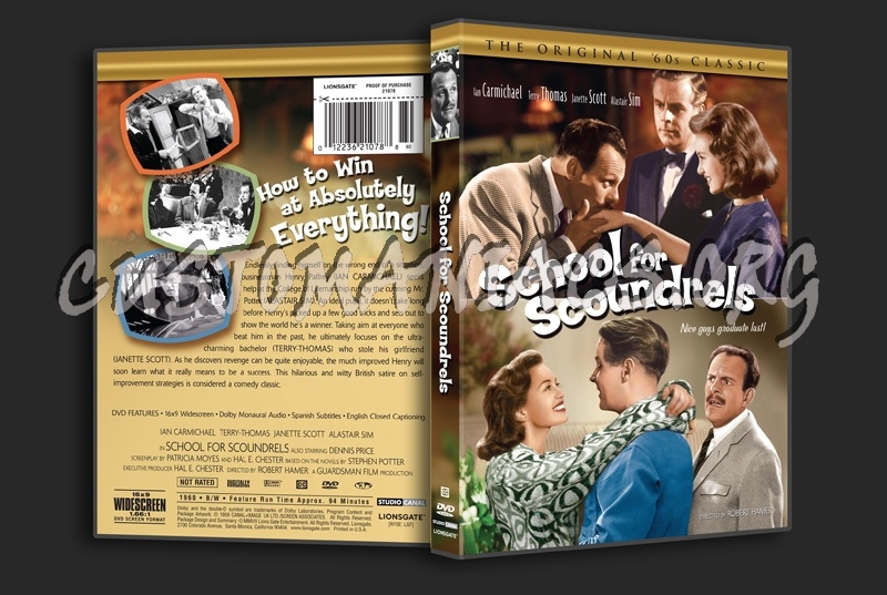 School For Scoundrels 1960 dvd cover