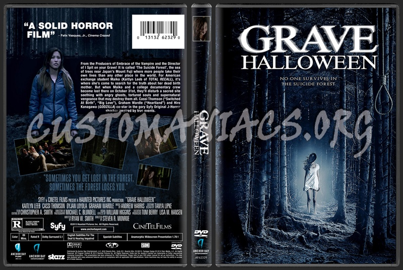Grave Halloween dvd cover - DVD Covers & Labels by Customaniacs ...