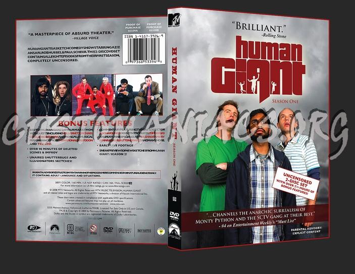 Human Giant Season 1 dvd cover