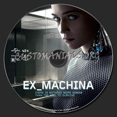 Ex Machina (Ex_Machina 2015) blu-ray label