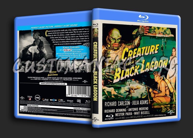 Creature From the Black Lagoon blu-ray cover