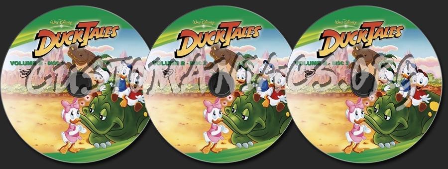 DuckTales Volume 2 dvd label