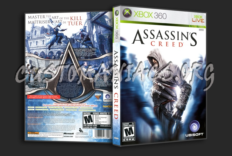 Assassins Creed dvd cover