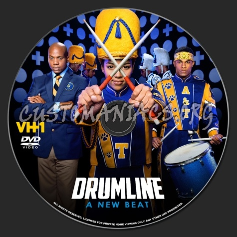 Drumline A New Beat dvd label