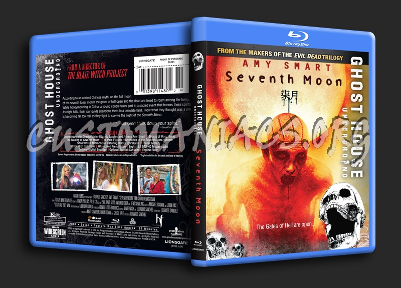 Seventh Moon blu-ray cover