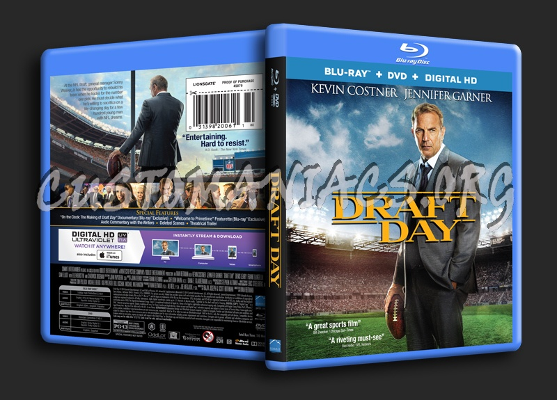 Draft Day blu-ray cover