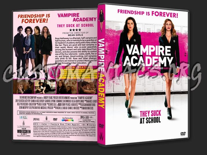Vampire Academy Dvd Cover Vampire Academy dvd co...