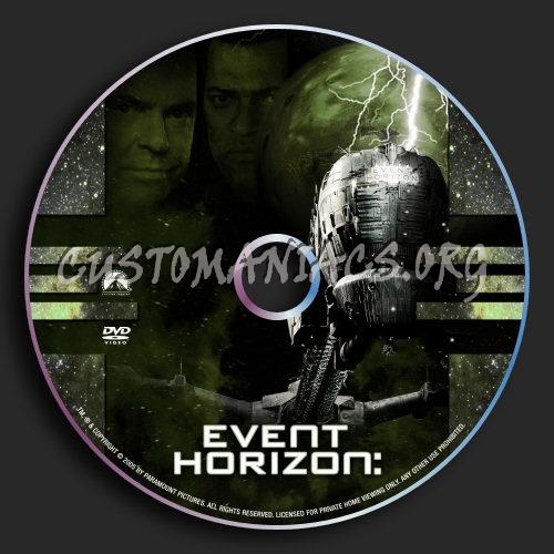 Event Horizon dvd label