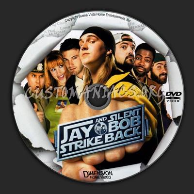 Jay & Silent Bob Strike Back dvd label