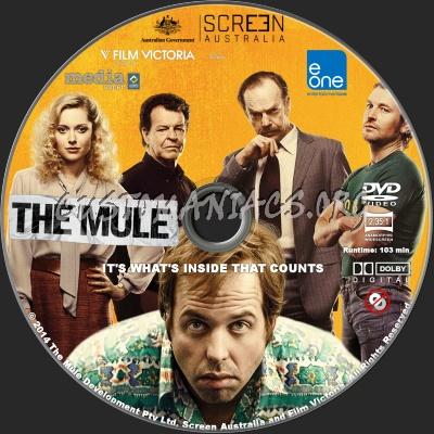 The Mule dvd label