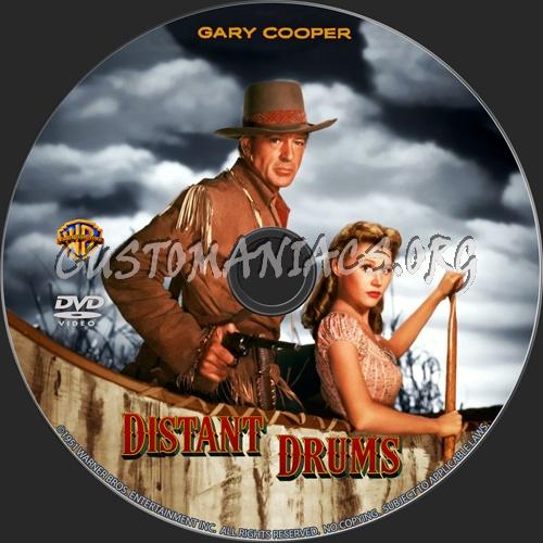 Distant Drums dvd label