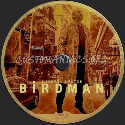 Birdman blu-ray label