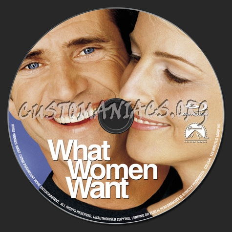 What Women Want blu-ray label