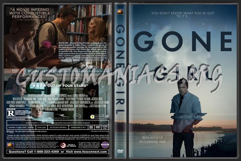 Gone Girl dvd cover