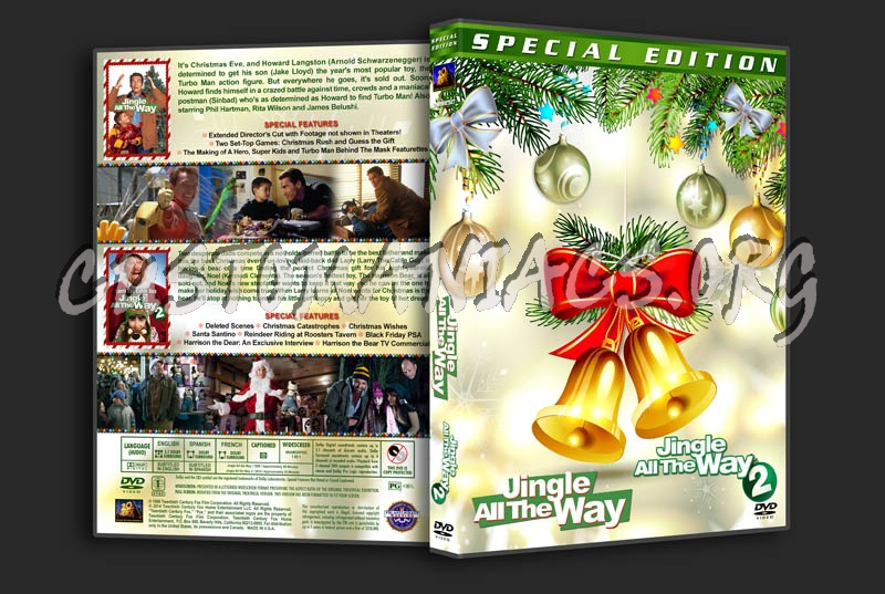 Jingle All the Way Double Feature dvd cover