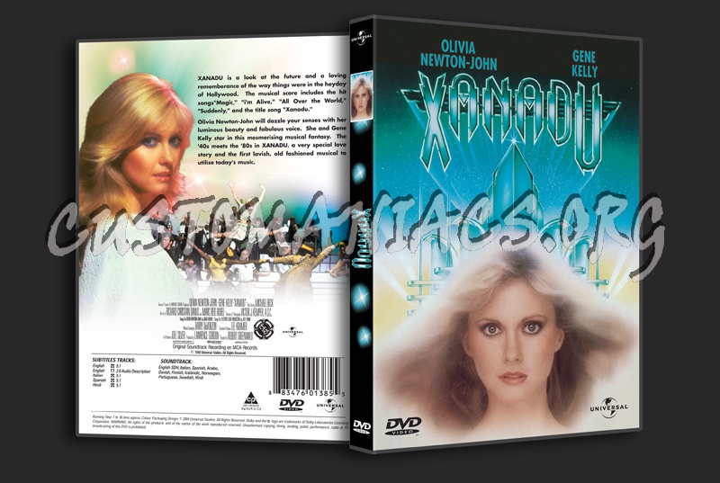 Xanadu dvd cover