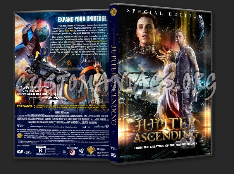 Jupiter Ascending 2015 Dvd Cover Dvd Covers Labels By Customaniacs Id 220103 Free Download Highres Dvd Cover