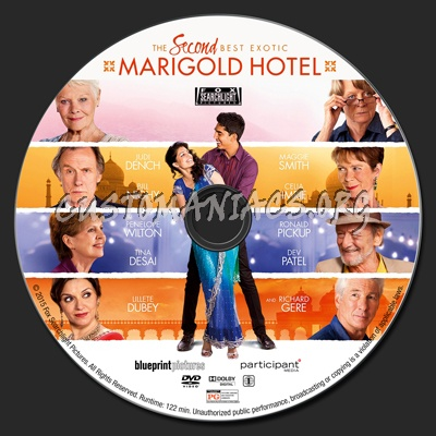 The second best exotic marigold hotel dvd label dvd covers the second best exotic marigold hotel dvd label malvernweather Images