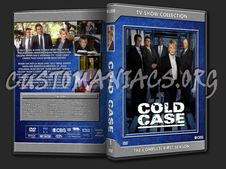 Cold Case Season 1 dvd cover - DVD Covers & Labels by Customaniacs