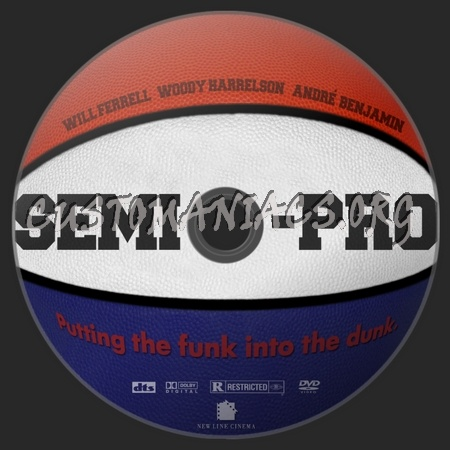 Semi-Pro dvd label