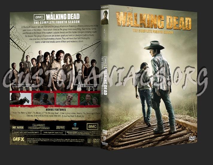 The Walking Dead Season 4 dvd cover