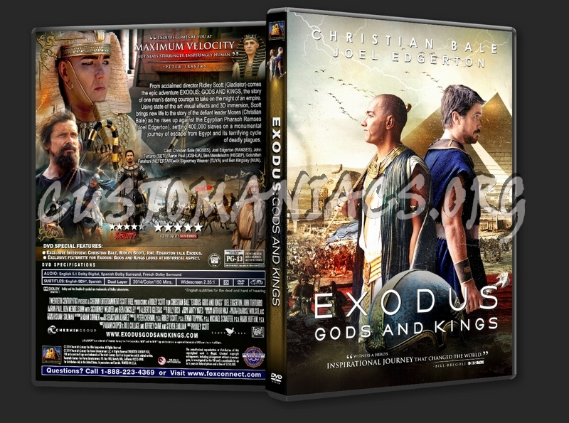 Exodus Gods And Kings 2014 Dvd Cover Dvd Covers Labels By Customaniacs Id 220619 Free Download Highres Dvd Cover