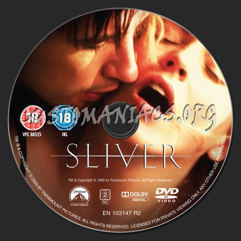 Sliver dvd label
