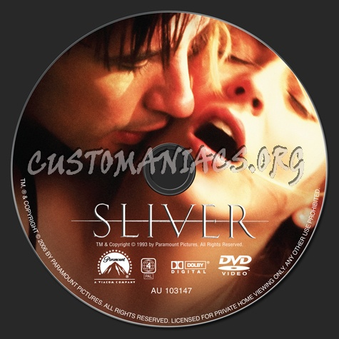 Sliver dvd label