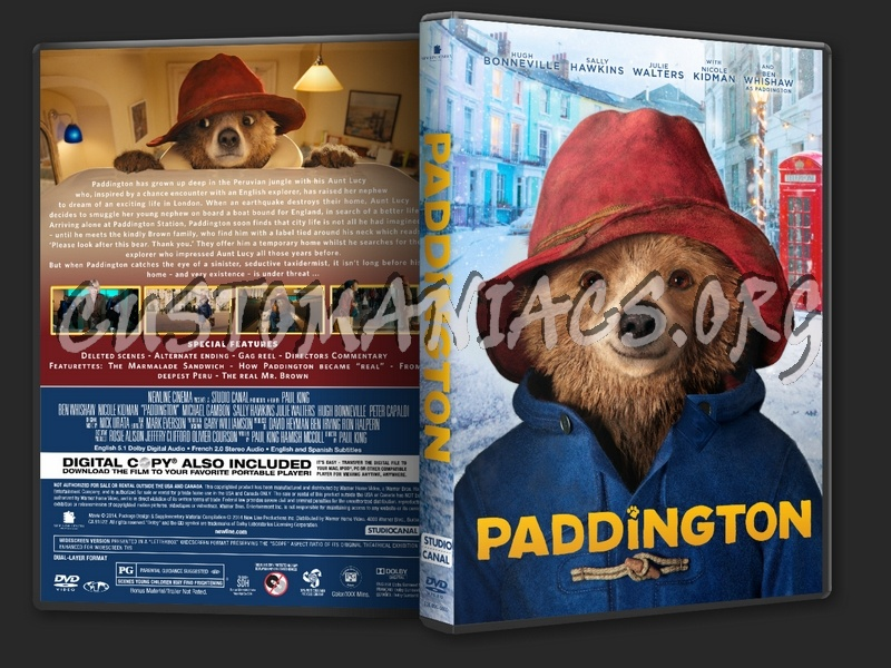 Paddington dvd cover