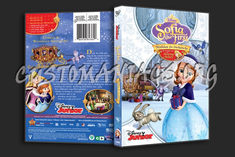 Sofia the First Holiday In Enchancia dvd cover