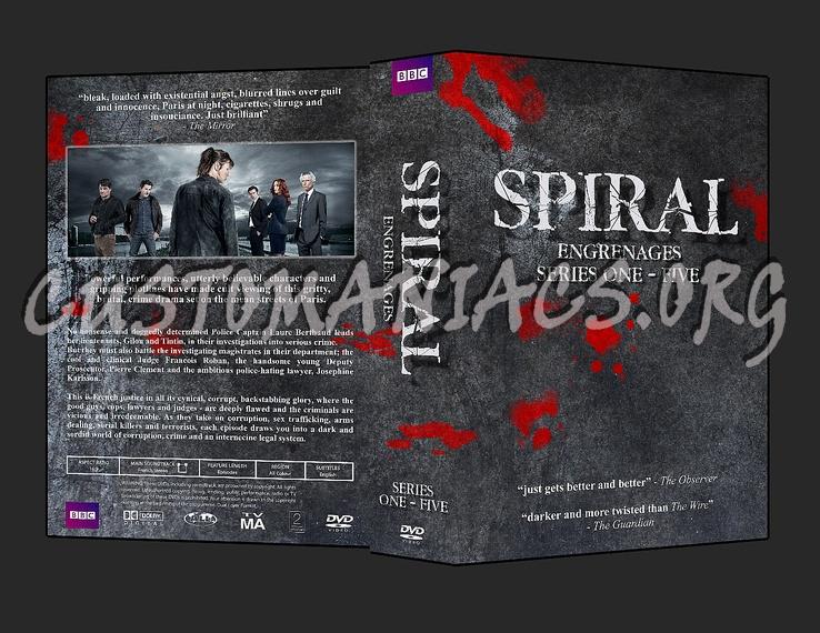 Spiral (engrenages) dvd cover